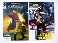 SERENITY & STAR WARS FLIP BOOK Dark Horse Free Comic Book Day NM+ 2012