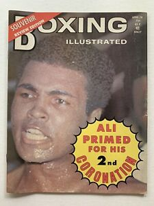 April 1974 Boxing Illustrated Heavy Weight Champion Muhammed Ali on Cover.