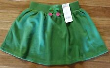 """Girls Size 7 Gymboree """"Merry And Bright"""" Green Skirt NEW"""
