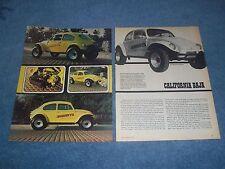 "1967 Volkswagen Baja Bug Vintage Article ""California Baja"" --- From 1979 --- VW"
