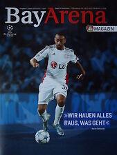 Programm UEFA CL 2015/16 Bayer Leverkusen - FC Barcelona