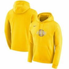 Nike Los Angeles Lakers City Edition Club Fleece Pullover Hoodie brand new 3xl