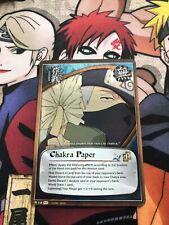 Naruto Cards CCG TCG Chakra Paper 748 FOIL COMMON COMBINE SHIPPING