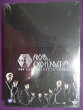 EXO From, EXOPLANET #1 : The Lost Planet In Seoul [3 DVD + Photobook]