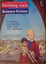 MAGAZINE OF FANTASY AND SCIENCE FICTION 1959 AUGUST