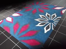 JASMIN FLOWERS, 8' x 5', BRAND NEW, THICK, PURE WOOL RUG...FREE DELIVERY.