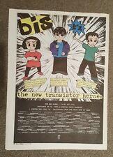 BIS New Transistor heroes 1997 press advert Full page 30 x 40 cm mini poster