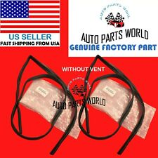 GENUINE OEM TOYOTA 84-89 4RUNNER FRONT DOOR GLASS RUN CHANNEL WITHOUT VENT SET