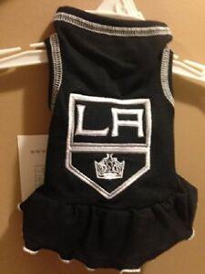 All Star Dogs La Kings Pet Cheerleader Dress, X-Large