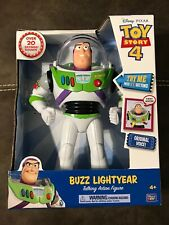 Disney Pixar Toy Story 4 Buzz Lightyear Talking Action Figure Kid Toy In Box