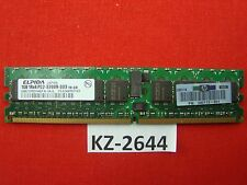 1GB Elpida DDR2-400 PC2-3200R 1Rx4 EBE10RD4AEFA-4A-E 73P2870 345113-051 #KZ-2644