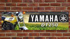 BR83 YAMAHA DT250B ENDURO 1975 DT250 BANNER GARAGE WORKSHOP SIGN