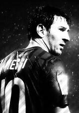 Lionel messi football A3 art print poster YF5322