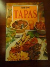 FAMILY CIRCLE mini cookbook TAPAS EUC