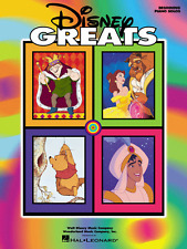 """""""DISNEY GREATS"""" BEGINNING PIANO SOLOS/KEYBOARD MUSIC BOOK-BRAND NEW ON SALE!!"""