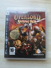 Overlord Raising Hell-PS3-Complet Inc carte Sony PlayStation 3