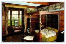 Postcard Browsholme Hall Lancashire The Velvet Room