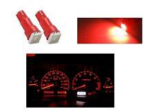 2 LUCES LÁMPARA LED ROJO T5 SMD 5050 bombilla coche luz cabina salpicadero red
