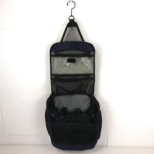 LL Bean Personal Organizer Toiletry Bag Medium dark blue bbx3