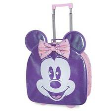 New Disney Store Minnie Mouse Luggage Kids Suitcase