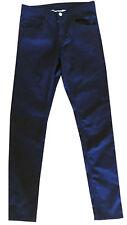 NEW Essential H & M Size 16 Girl's Black Stretch Denim Skinny Jeans