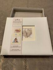 Hallmark Baby Times Instant Scrapbook Memory Baby Book 20 pages Album New!