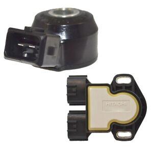 Hitachi OEM Ignition Knock and Throttle Position Sensors Kit For Infiniti Nissan