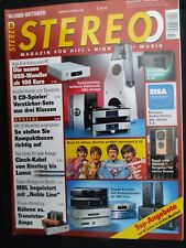 STEREO 10/09 WADIA 381i,MBL 5011,9007,116F,DENON DCD/PMA 710AE,MAGNAT MCD 850
