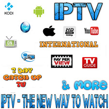 3 MONTHS IPTV Gift VOD 7 Day Catch Up Zgemma MAG Android ENIGMA2 GLITCH FREE