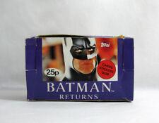 New 1992 BATMAN RETURNS ✧ TOPPS ✧ Vintage Movie Photo gum cards MISP