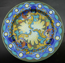 Gouda Zuid-Holland Floral Design Plate in the Corona Decor Henri Breetvelt 1925