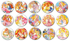 "LADY LOVELY LOCKS - Lot of 15 Pin Back 1"" Buttons Badges (One Inch)"
