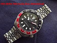 Vintage 1992 SEIKO Black Scuba Diver 7002-7001 Coke GMT Bezel, Date,Auto.SDS001