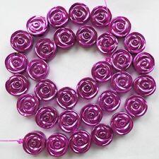 Beautiful Hematite Flower loose bead 15.5inch  D0071723