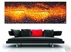 large big bush fire landscape aboriginal art on canvas by jane crawford Aussie