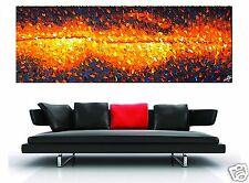large big  bush fire landscape original art on canvas  by jane crawford Aussie