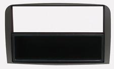 Mascherina con foro ISO/Doppio Iso/Doppio DIN nero Alfa 147 07>-GT 07>