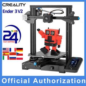 Creality Ender 3 V2 3D Drucker Ganzmetall Silent Resume Druck 220*220*250mm DE