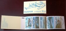 Faroe Stamp Booklet #03 1985 Airplanes Aircraft - Fdc - Excellent!