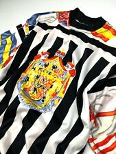 VERSACE J COUTURE VINTAGE '95 EMBLEM FLAGS T SHIRT TOP MEN USA UK AMERICA ITALY