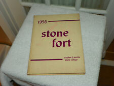 1956 STEPHEN F AUSTIN UNIVERSITY SFA Nacogdoches TX Yearbook Annual Stone Fort