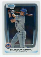 2011 Bowman Chrome Draft Brandon Nimmo #BDPP63 New York Mets!