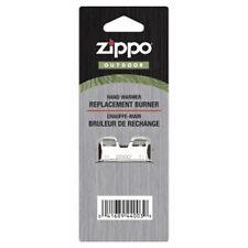 High Polish Chrome Replacement Zippo Burner Unit - Handwarmer Hiking Camping