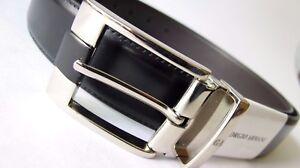 Authentic Giorgio Armani Reversible Leather Belt...large....GA6310