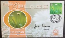 JUNE BROWN, TV Actress, Dot Cotton Eastenders Signed 6.6.2000 People & Place FDC