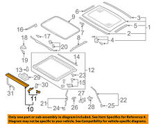 AUDI OEM 08-16 A5 Quattro Sunroof Sun Roof-Sunshade Shade Cover 8T08773075L9