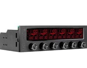 Thermalatke  Commander F6 RGB Multi Color 6Ch Fan Controller (AC-024-BN1NAN-A1)