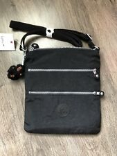 KIPLING KEIKO  BLACK  Adjustable Shoulder CrossBody Bag - NEW Kipling