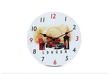 LONDON SKYLINE  SCENE 17 cm Wall Clock Brand New