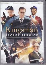 Dvd **KINGSMAN ♦ SECRET SERVICE** con Samuel L. Jackson nuovo 2015